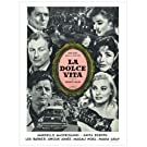 La Dolce Vita, Black and White Film Poster