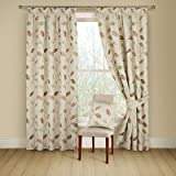 Montgomery 90 x 72-inch Drop Per Curtain 1 Polyester Leonie, Pack of 1, Terracotta