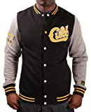 Young and Reckless Cult Men&#8217;s Varsity Baseball Jacket Coat Black Size L
