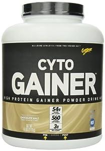 CytoSport Cyto Gainer Protein Drink Mix, Chocolate Malt, 6 Pound