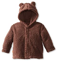 Magnificent Baby Unisex-Baby Infant Hooded Bear Jacket, Mocha, 6-12 Months
