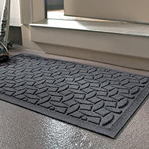 Water dirt shield ellipse commercial grade for Door mats amazon