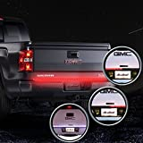 MICTUNING 60 Inch Truck Tailgate Light Bar LED Red/white Reverse Turn Stop Tail Signal