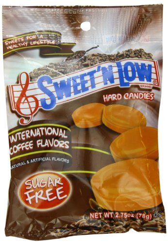 Sweet N Low International Coffee Sugar Free Candy,