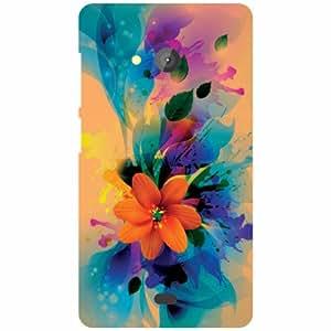 Printland Microsoft Lumia 540 Dual SIM Back Cover