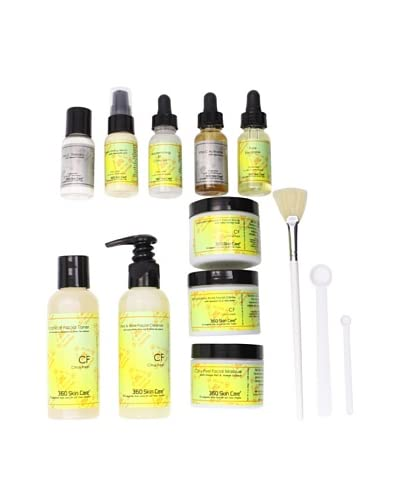 360 Skin Care The Works Citrus Fresh 13-Piece Facial Collection