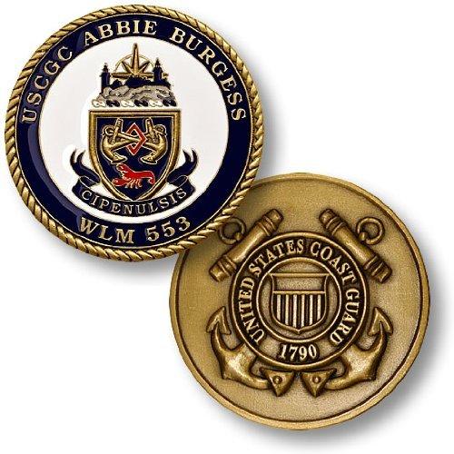Coast Guard Cutter Abbie Burgess Challenge Coin