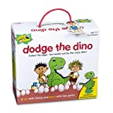 Chimp and Zee dodge the dino