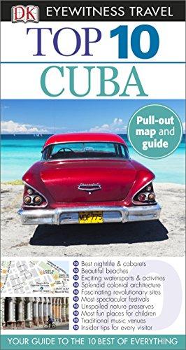 DK Eyewitness Top 10 Cuba (Dk Eyewitness Guide supérieur de 10 voyages Cuba) de voyage