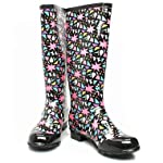 Exploding star wellies