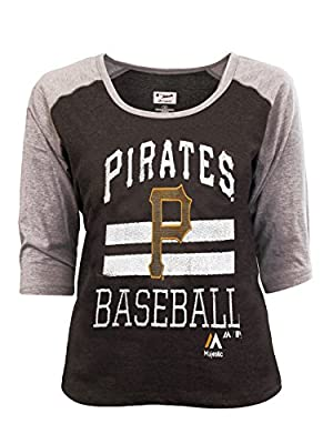 Majestic Women's Pittsburgh Pirates Win Rag T
