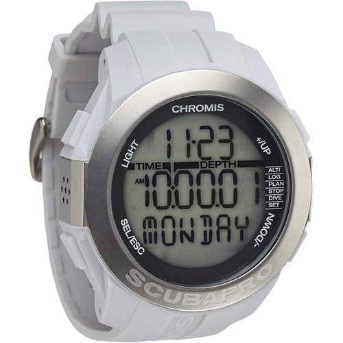 Scubapro Chromis Scuba Diving Computer Watch - White
