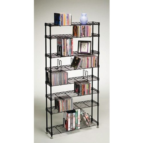 Image of AWM Atlantic 3020 Multimedia Storage Racks (8 Shelves) (B0087N4Y9U)