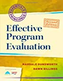 img - for Effective Program Evaluation (Essentials of Principals) book / textbook / text book