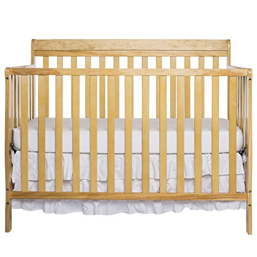 Dream On Me Alissa Convertible 4 In 1 Crib, Natural