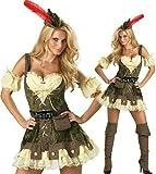 Sexy Kostüm ROBIN HOOD für Karneval Fasching M Halloween