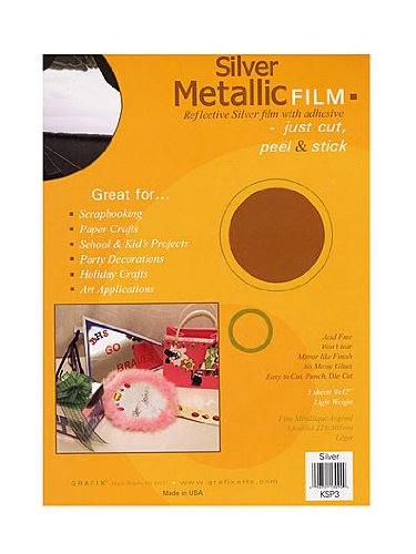 Grafix Metallic Film silver - 1