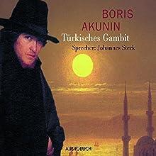 Türkisches Gambit (Fandorin ermittelt 2) Hörbuch von Boris Akunin Gesprochen von: Johannes Steck