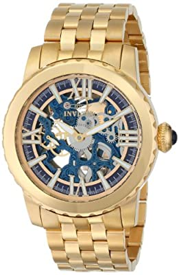 Invicta Men's 14551 Specialty Analog Display Chinese Automatic Gold Watch