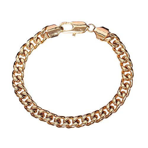 Lukis Damen vergoldt Armschmuck Armreif Armring Goldreif Armkette Armband Ankerkette