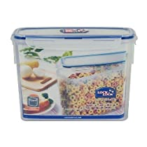 Lock & Lock Rectangular Food Storage Container PBA Free 2.4 L / 81 Oz (Pack of 2)