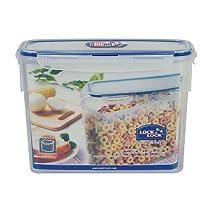 Lock & Lock Rectangular Food Storage Container PBA Free 2.4 L / 81 Oz (Pack of 2)