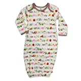 Zutano Baby-Girls Newborn Little Farm Organic Gown