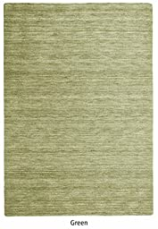 The Rug Republic Roma Hand Woven Semi Twisted Wool Rug
