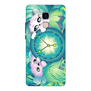Joe Printed Plastic Back Case For Huawei Honor 5C Mobile ( Multicolor)