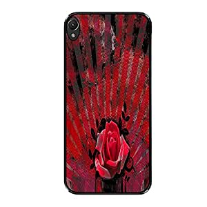 Vibhar printed case back cover for Lenovo A7000 RetRose