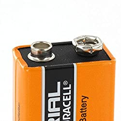 2X Original Duracell Industrial 9V PP3 MN1604 Block Alkaline Batteries Replaces Procell Battery Pack of 2 by Duracell