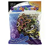 Buddy Bands Ultimate Collection I Mega Pack (100 Bands, 52 Shapes In One Pack!) , Tie Dye, Glow In The Dark, And...