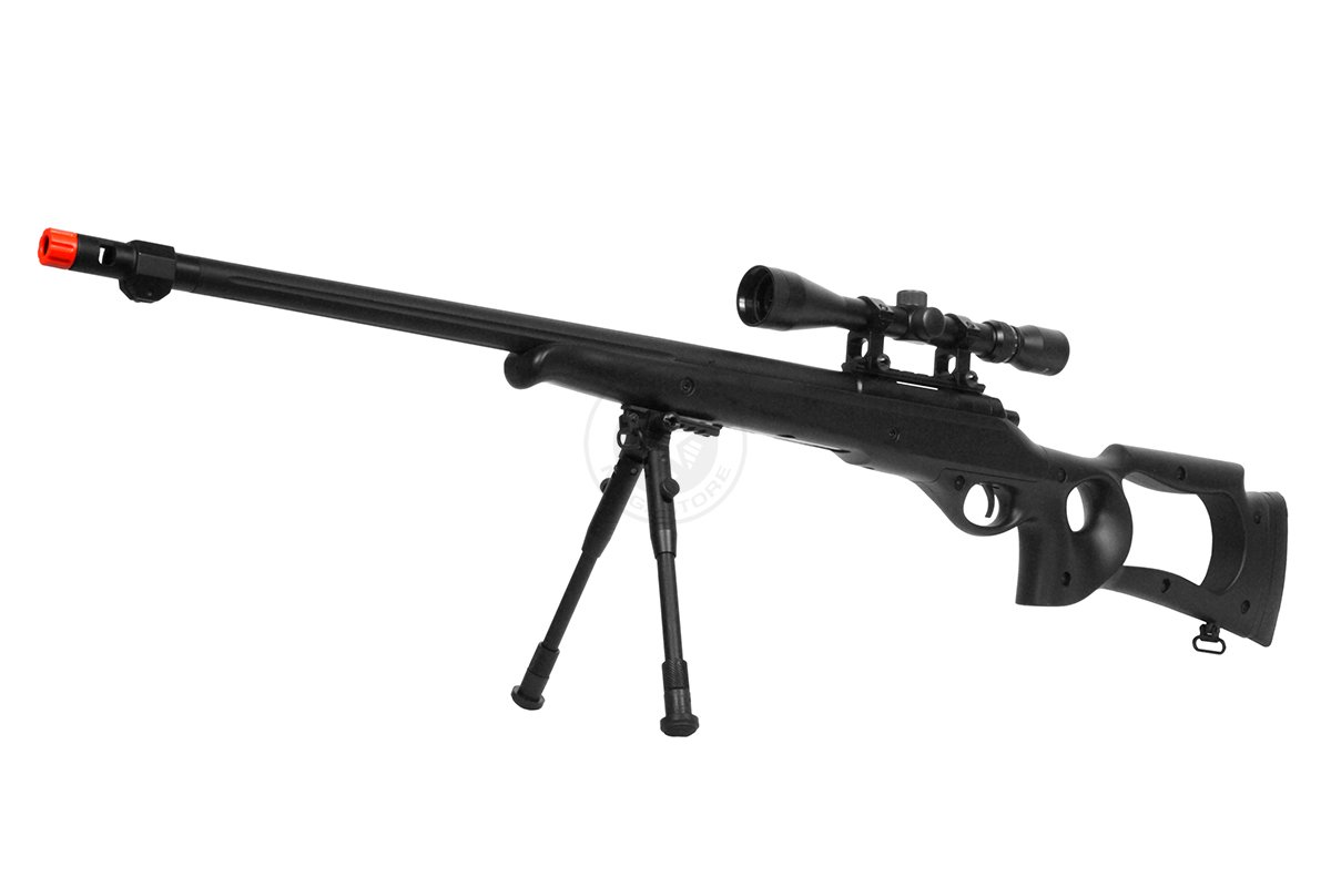 цены WellFire MB10D Bolt Action Sniper Rifle w/ 3-9x40 Scope and Bipod