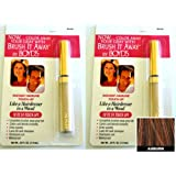 Renoir x2 Brush It Away Instant Hairline Touch-up Auburn + 7in Brilliance Comb