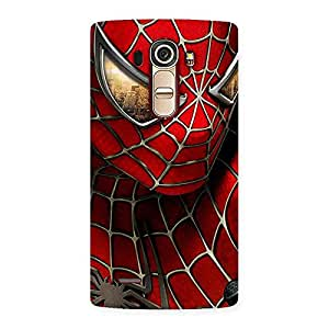 Enticing Spide Two Red Back Case Cover for LG G4