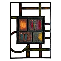 Wall Plaque in Brown