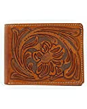 Nocona Men's Tooled Bi-Fold Wallet