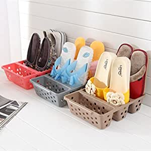 Durable Plastic Shoe Rack For Entryway Space