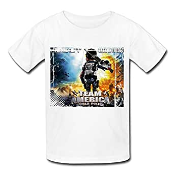 .com: Youth Team America World Police Kids Boys And Girls T-Shirt ...