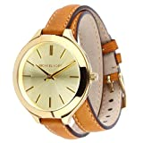 Michael Kors Womens MK2256 Runway Brown Watch