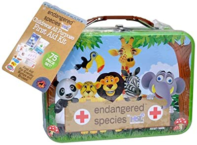 Endangered Species by Sud Smart Children's All Purpose First Aid Kit by Endangered Species by Sud Smart