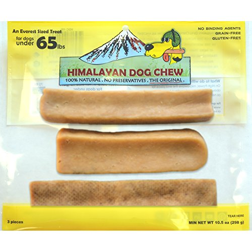 Himalayan Dog Chew, Mixed Pack (contains 3 pieces)