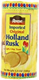 Reese Holland Rusk Light, Crisp Toast, 3.5-Ounce Packages (Pack of 12)