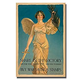Share in the Victory by Haskell Coffin Premium Gallery-Wrapped Canvas Giclee Art (Ready-to-Hang)