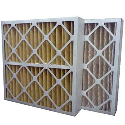 "US Home Filter SC60-20X24X4 20x24x4 Merv 11 Pleated Air Filter (3-Pack), 20"" x 24"" x 4"""