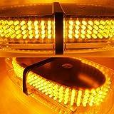 KAFEEK Amber Vehicle Car Truck Emergency Hazard Warning 240 LED Mini Bar Strobe Flash Light