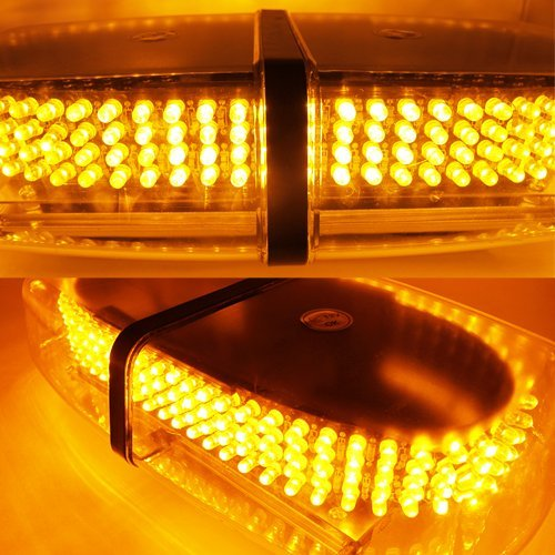 New Bright Amber 240-LED Strobe Light Warning Emergency Flashing Car Truck Construction Car Vehicle Safety #71A