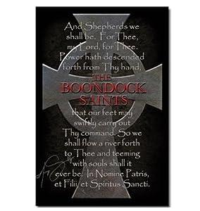 Der Blutige Pfad Gottes - Prayer & Cross Poster: Amazon.de