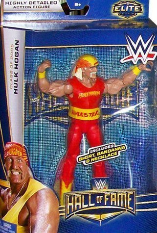 WWE Elite Hall Of Fame Hulk Hogan Class Of 2005 (Yokozuna Action Figure compare prices)