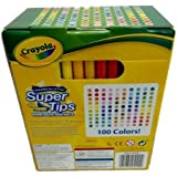 Crayola Super Tips Washable Markers 100 Colors